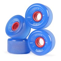 JUCKER HAWAII Roues de Longboard SUPERBALLS 70mm 80A CP32...